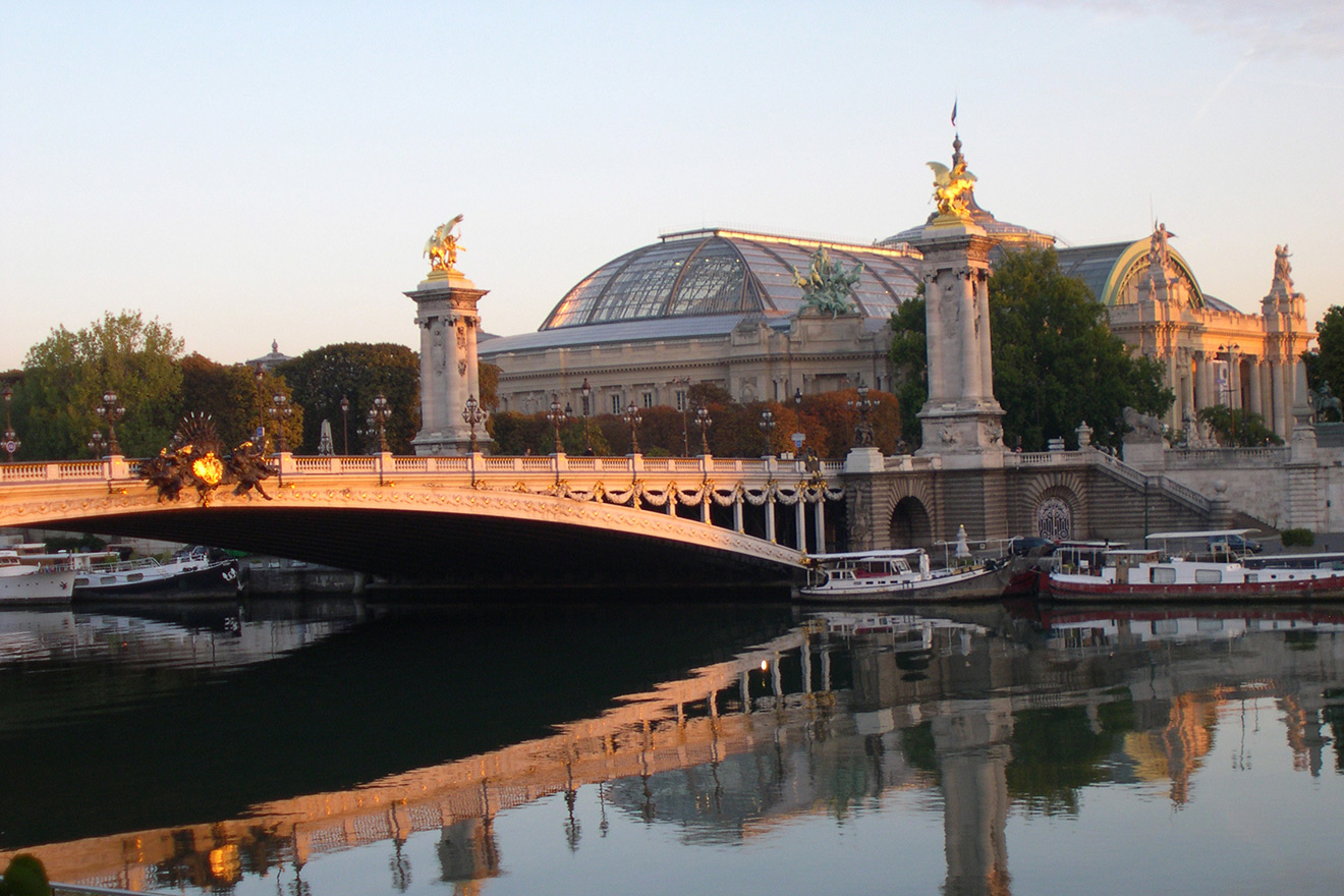Eiffel Tower and Seine