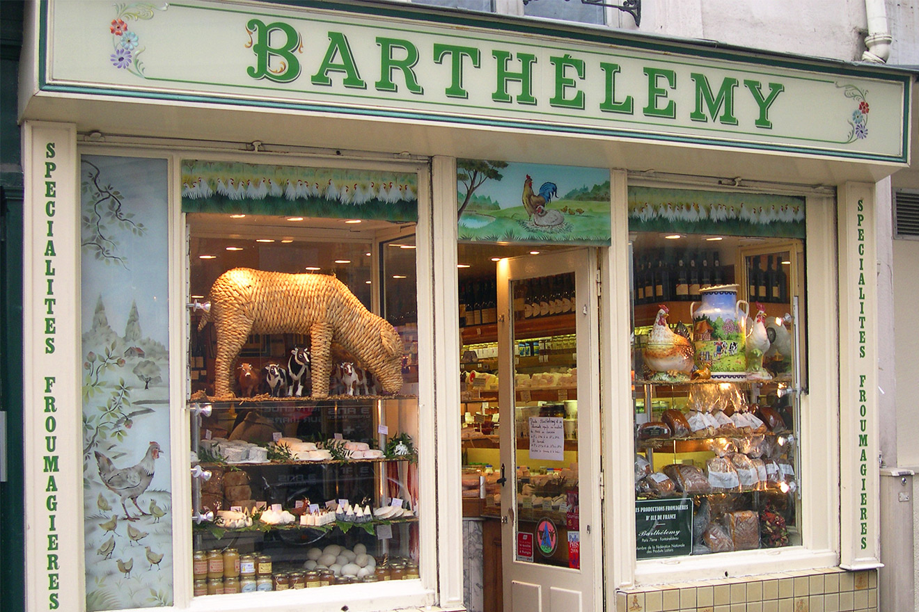 Barthemely Fromagerie Paris