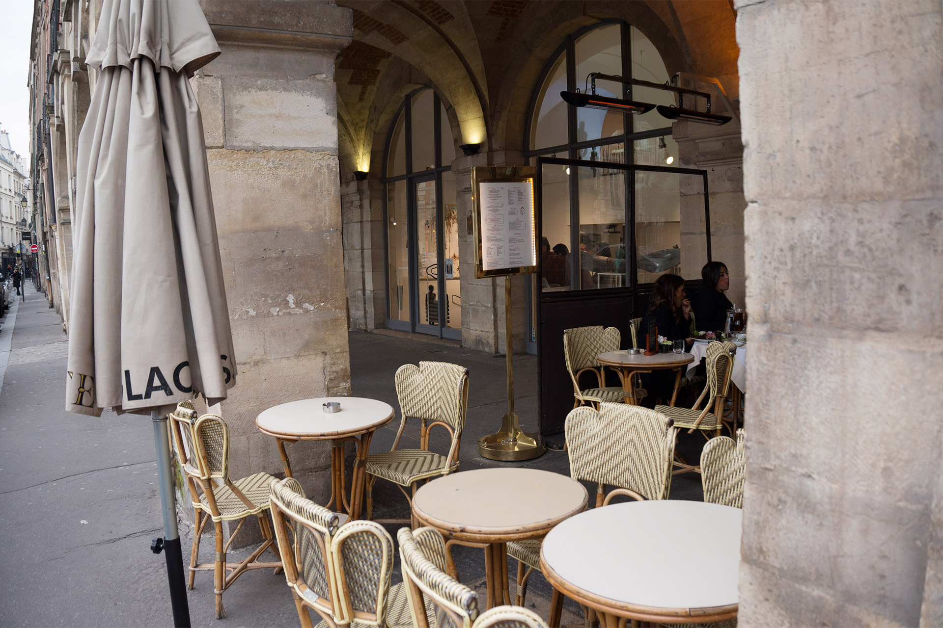 Cafe Carette at Place des Vosges