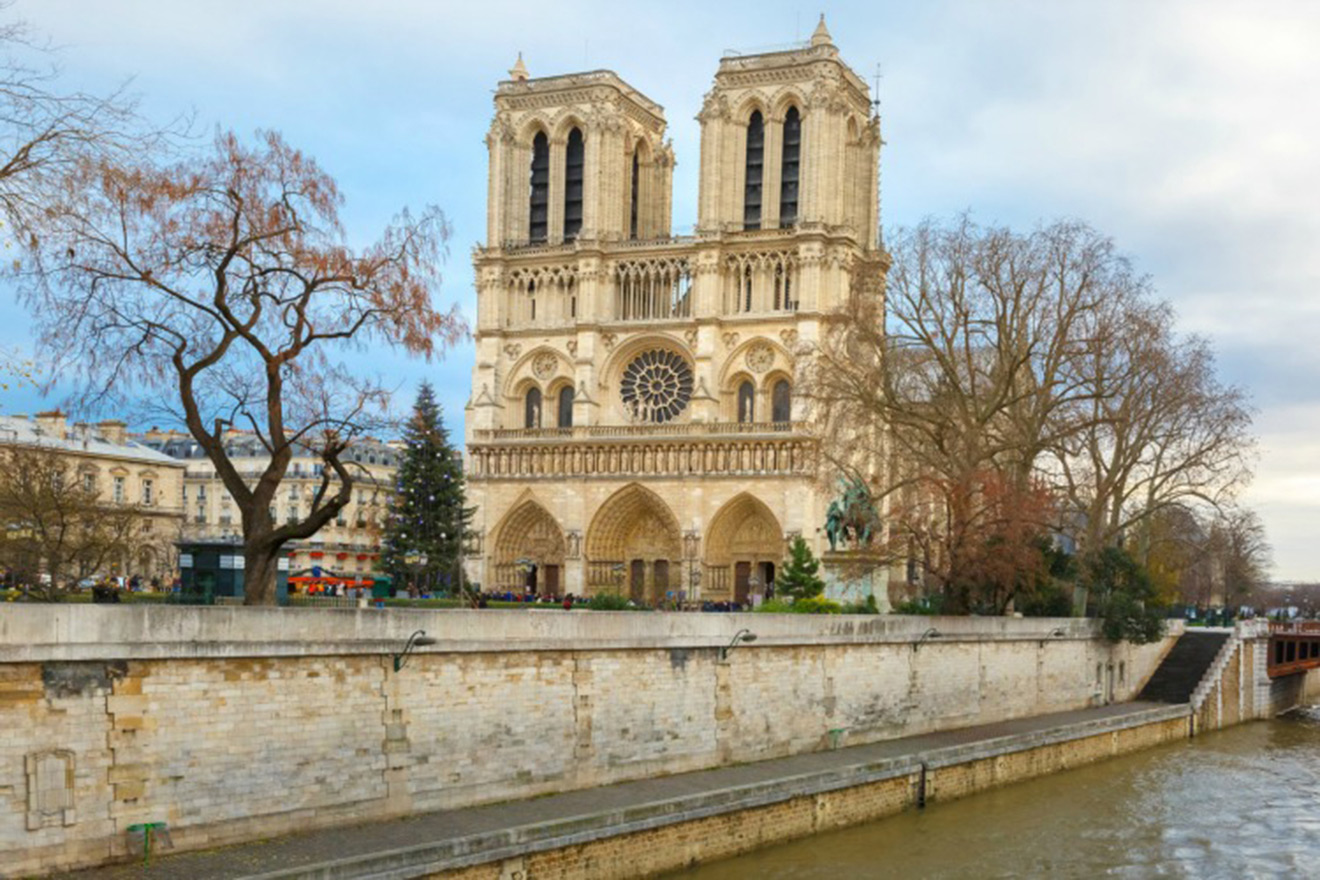 Take the Seine down to the Notre Dame