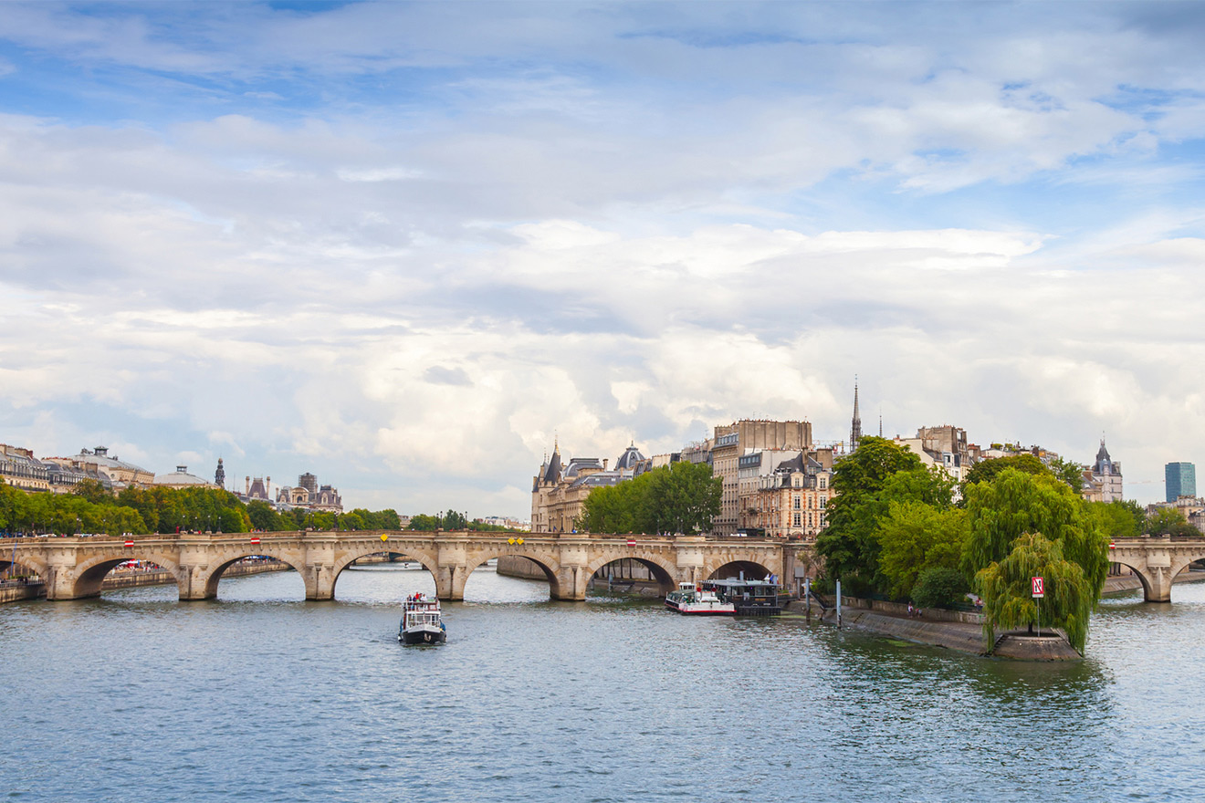 Take a cruise down the Seine to see all the sights or enjoy a daily stroll