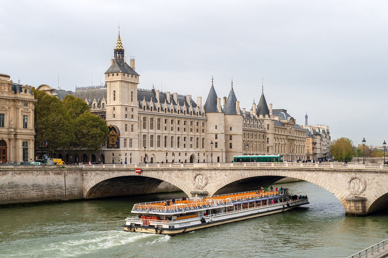 Take a cruise down the Seine river