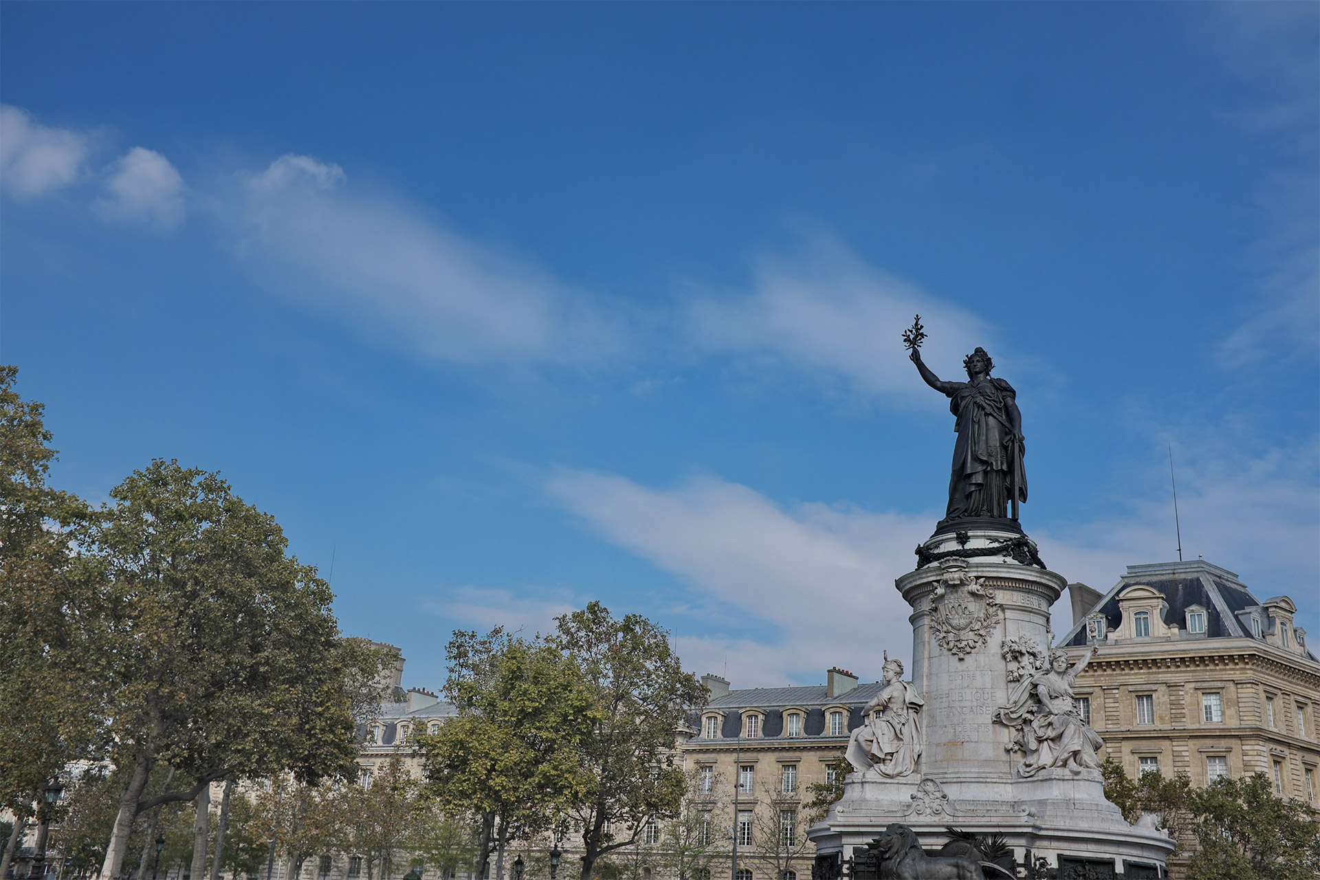 Place de la République in Paris