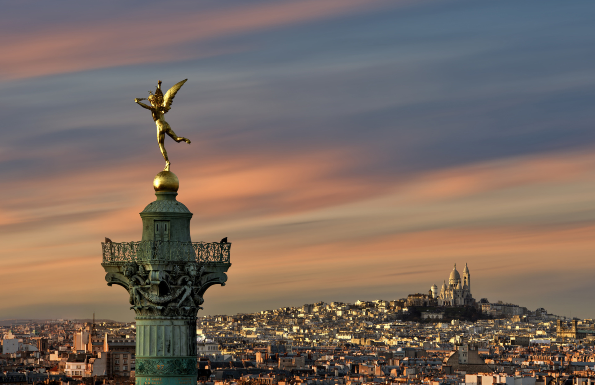 You are minutes away from the Place de la Bastille in the Vivarais vacation rental by Paris Perfect