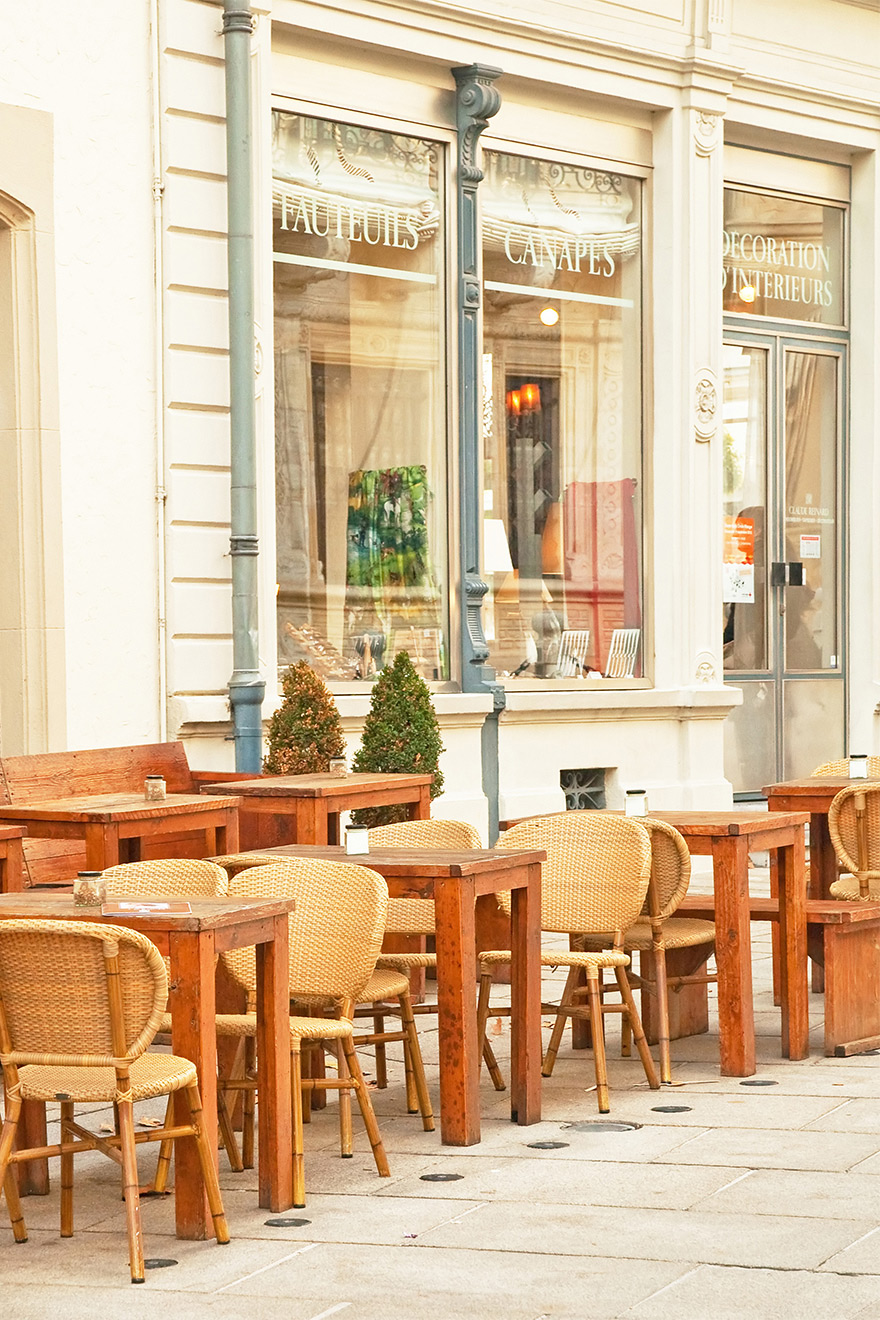 Rue du Buci Cafe Paris