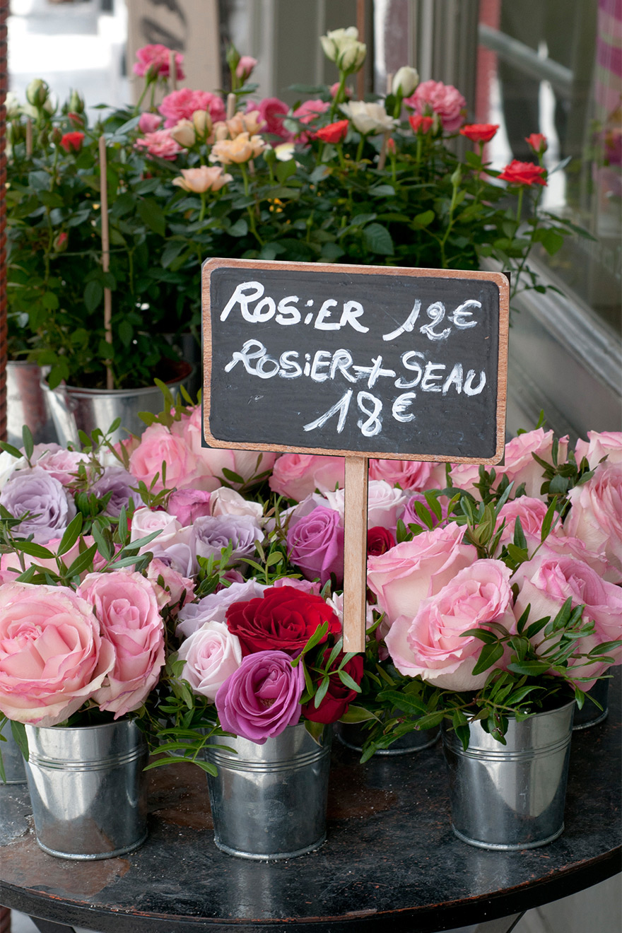 Fresh Flowers Paris