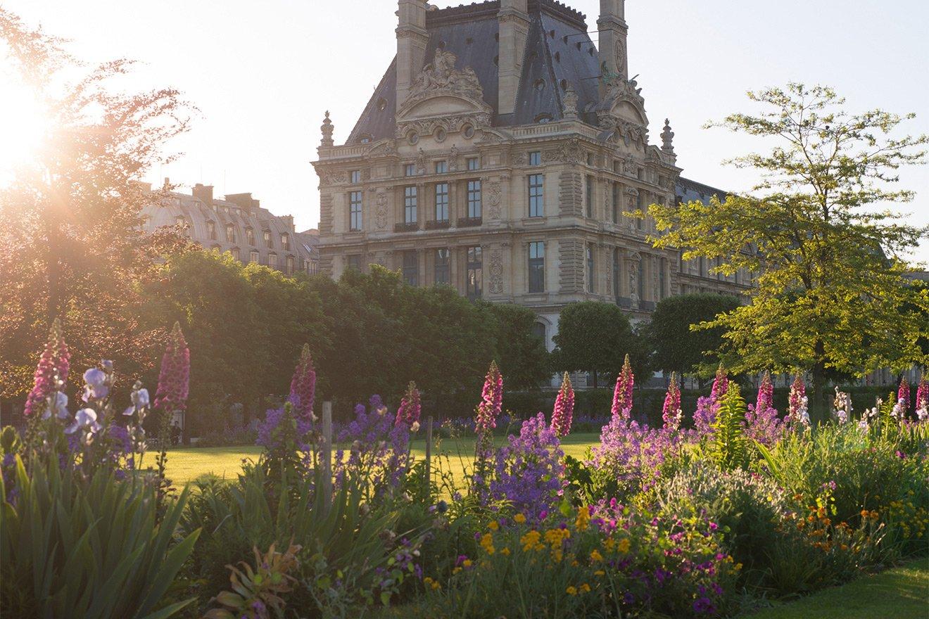 Leisurely stroll through the beautiful Tuileries Gardens