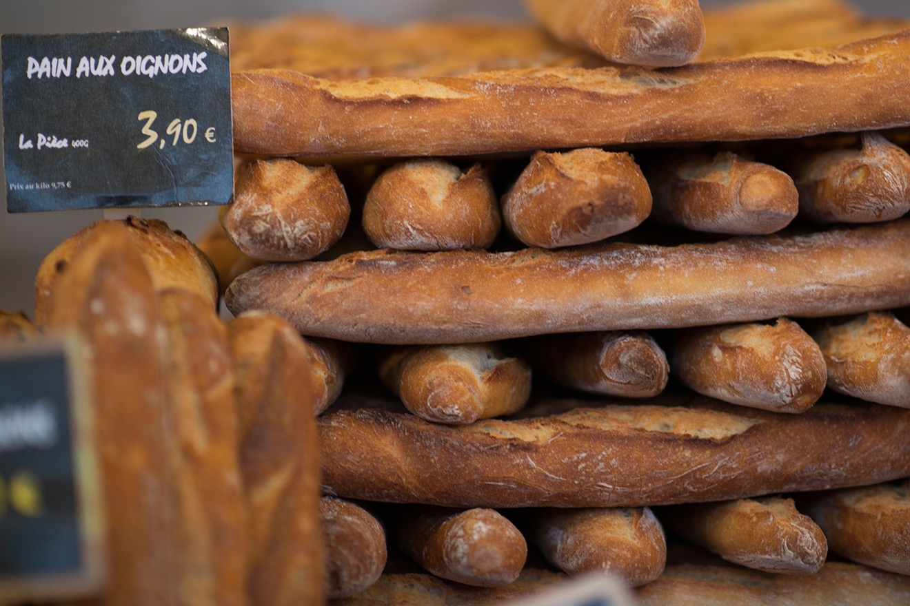 Baguettes in Paris