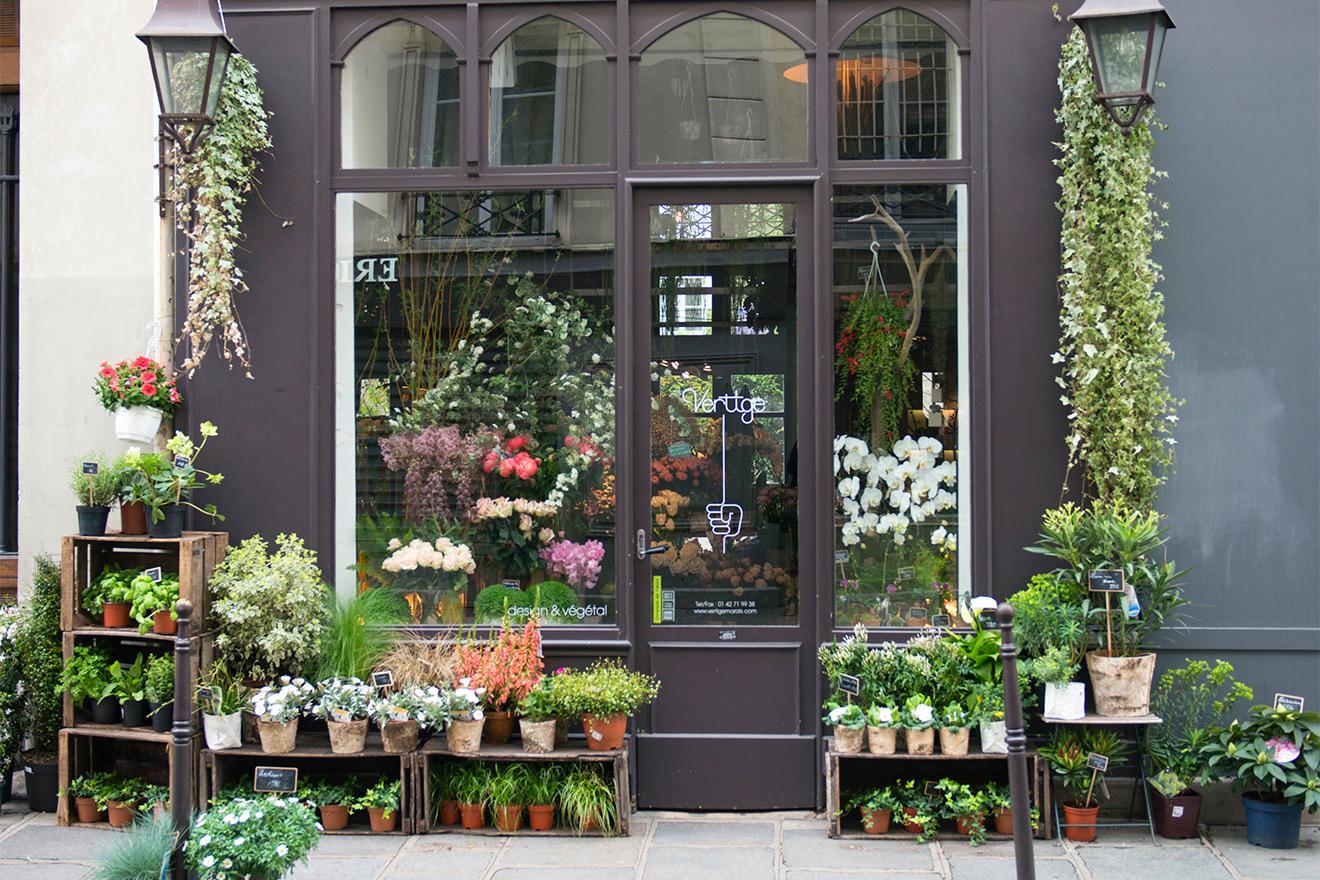 Rue Cler Florist Shop