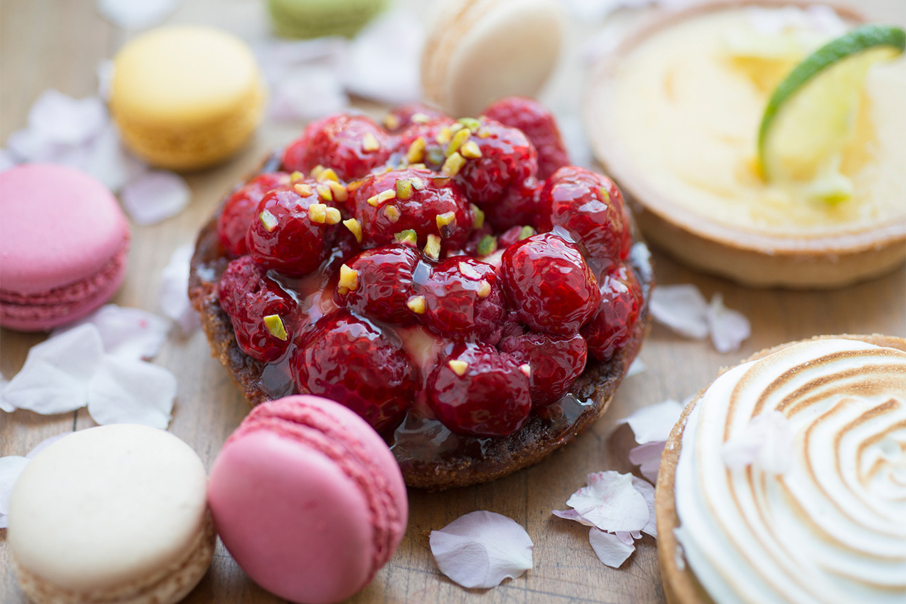 Delicious patisseries found all over the area