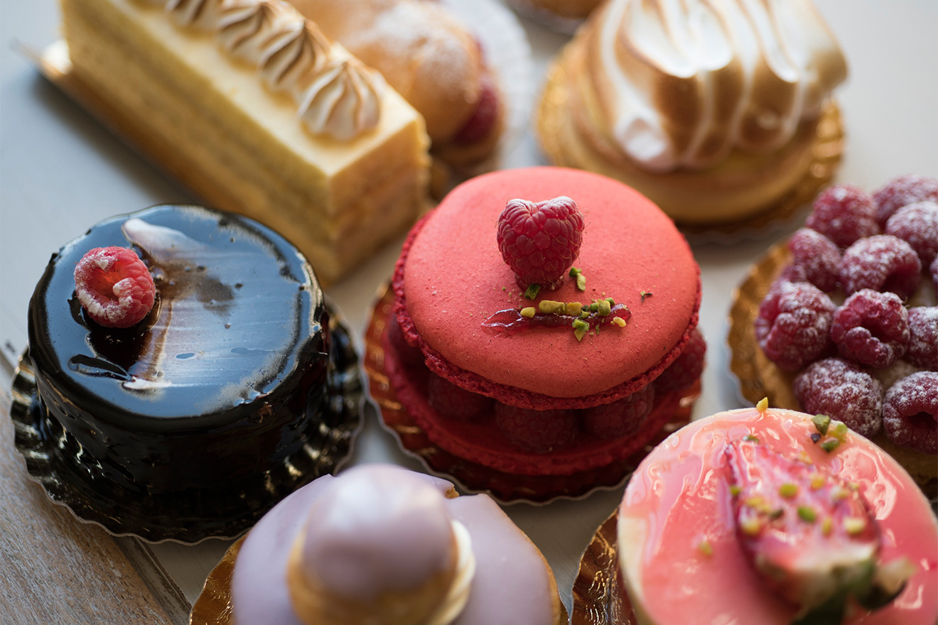 Pastries are a passion in Paris