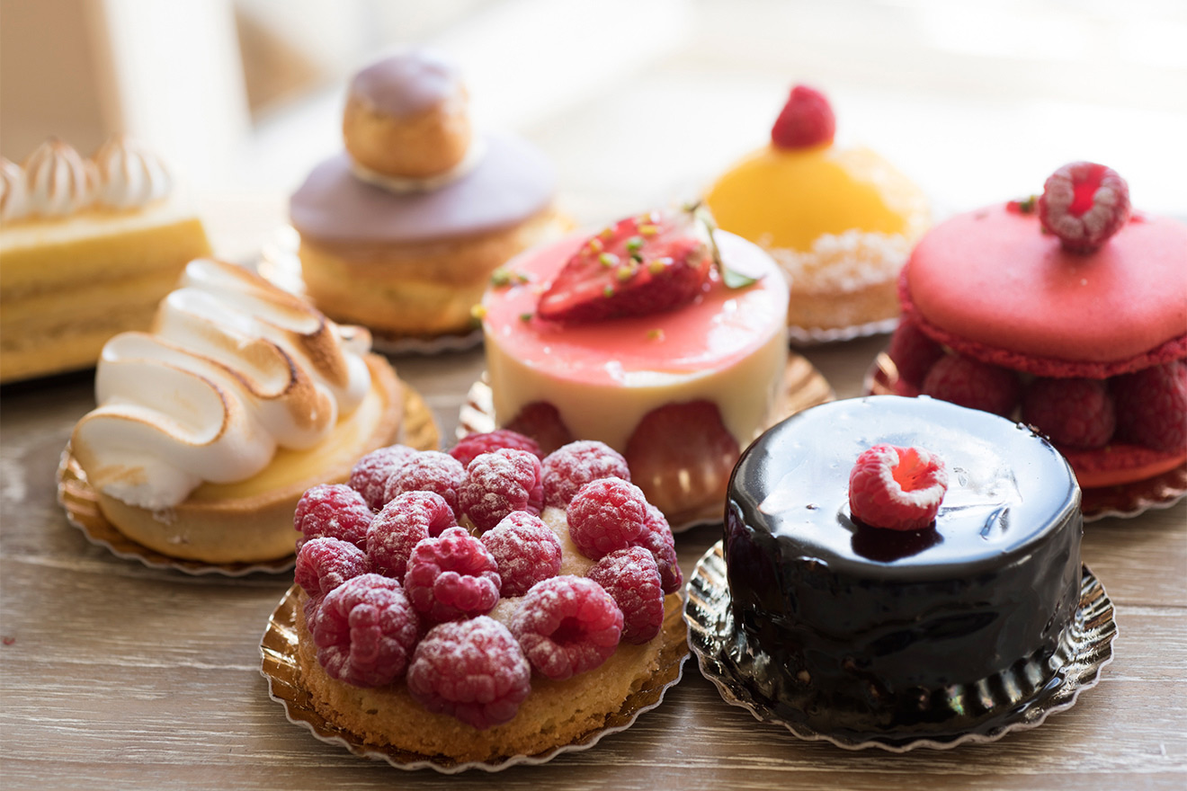 Stop for incredible pastries while exploring the Right Bank