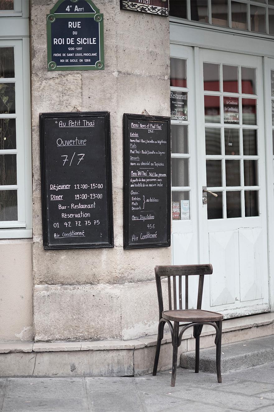 Marais cafes