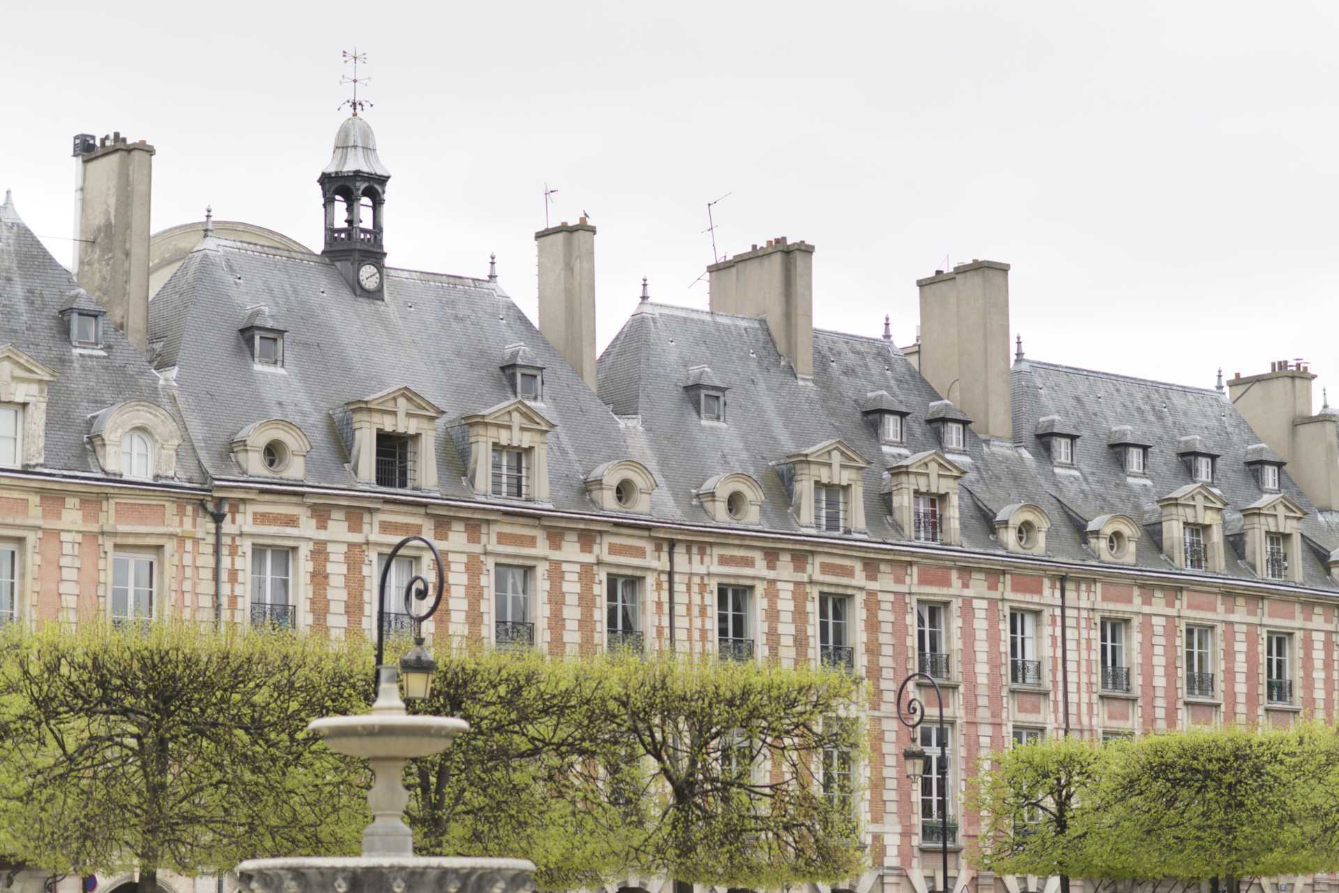 The place des Vosges is right around the corner in the Vivarais vacation rental by Paris Perfect