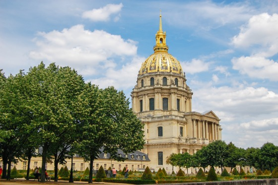 The Invalides where Napoleon is buried