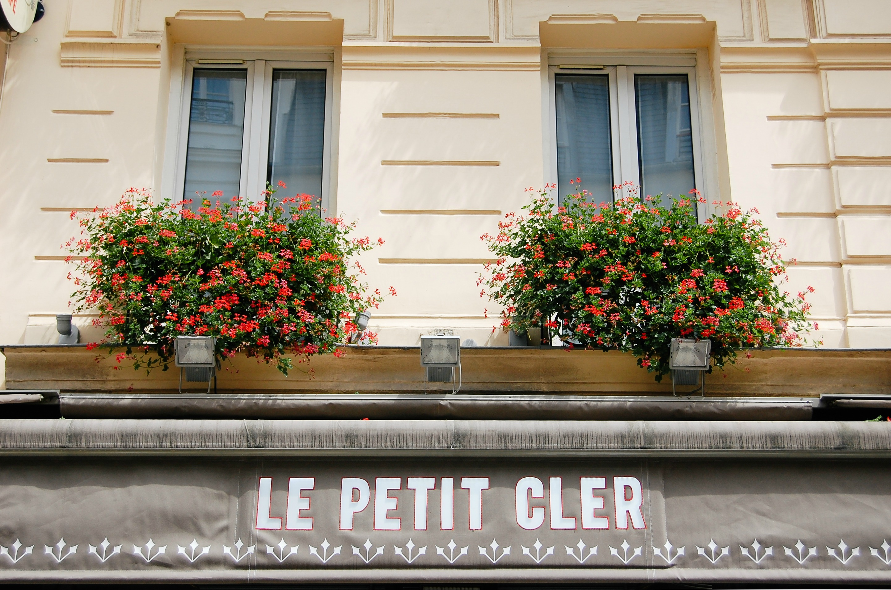 Lunch at the esteemed Petit Cler