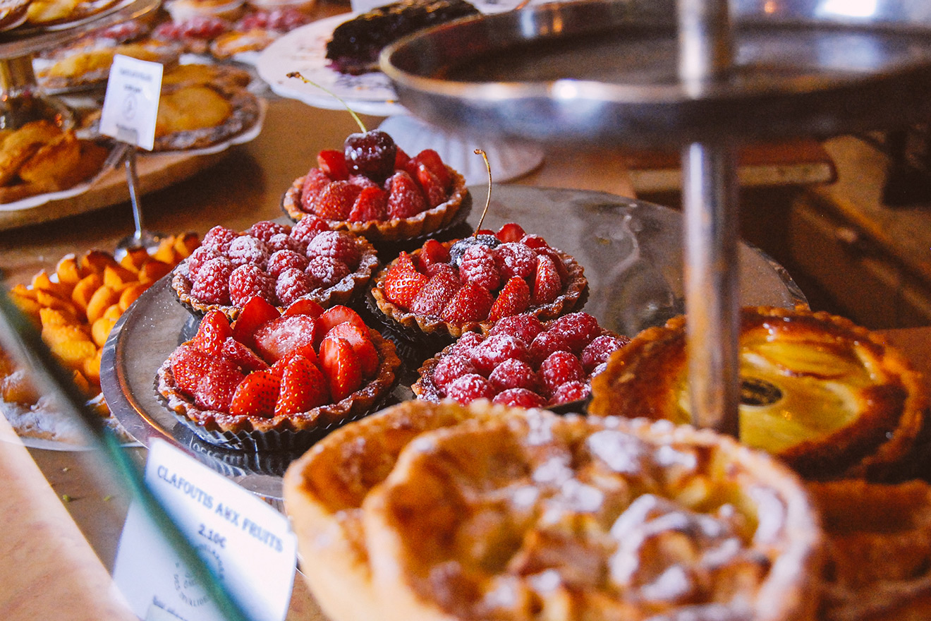 In Paris, you can't forget about dessert