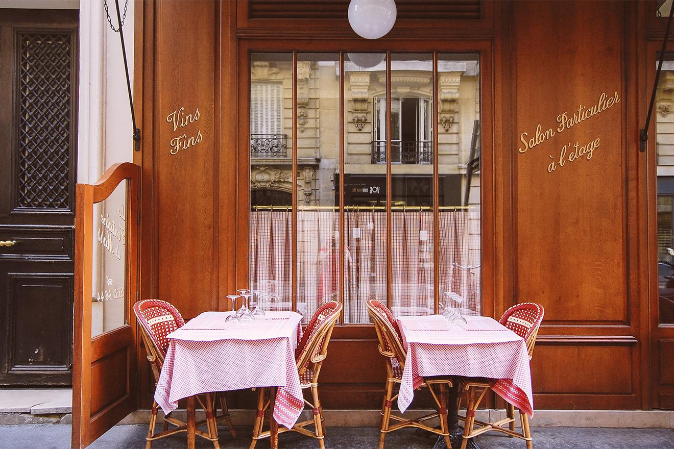 Paris fine dining