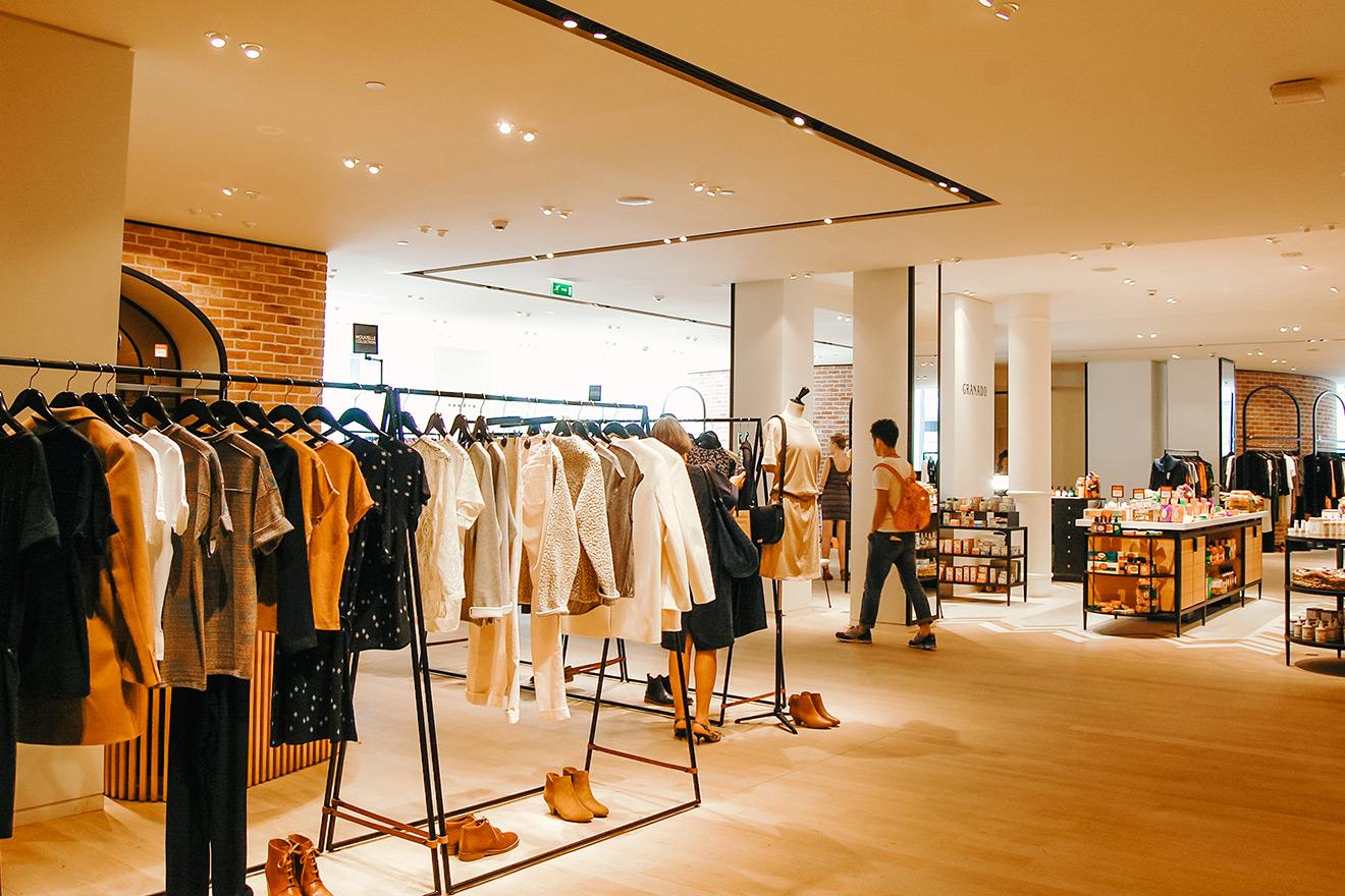 Shop at the fabulous at Le Bon Marche