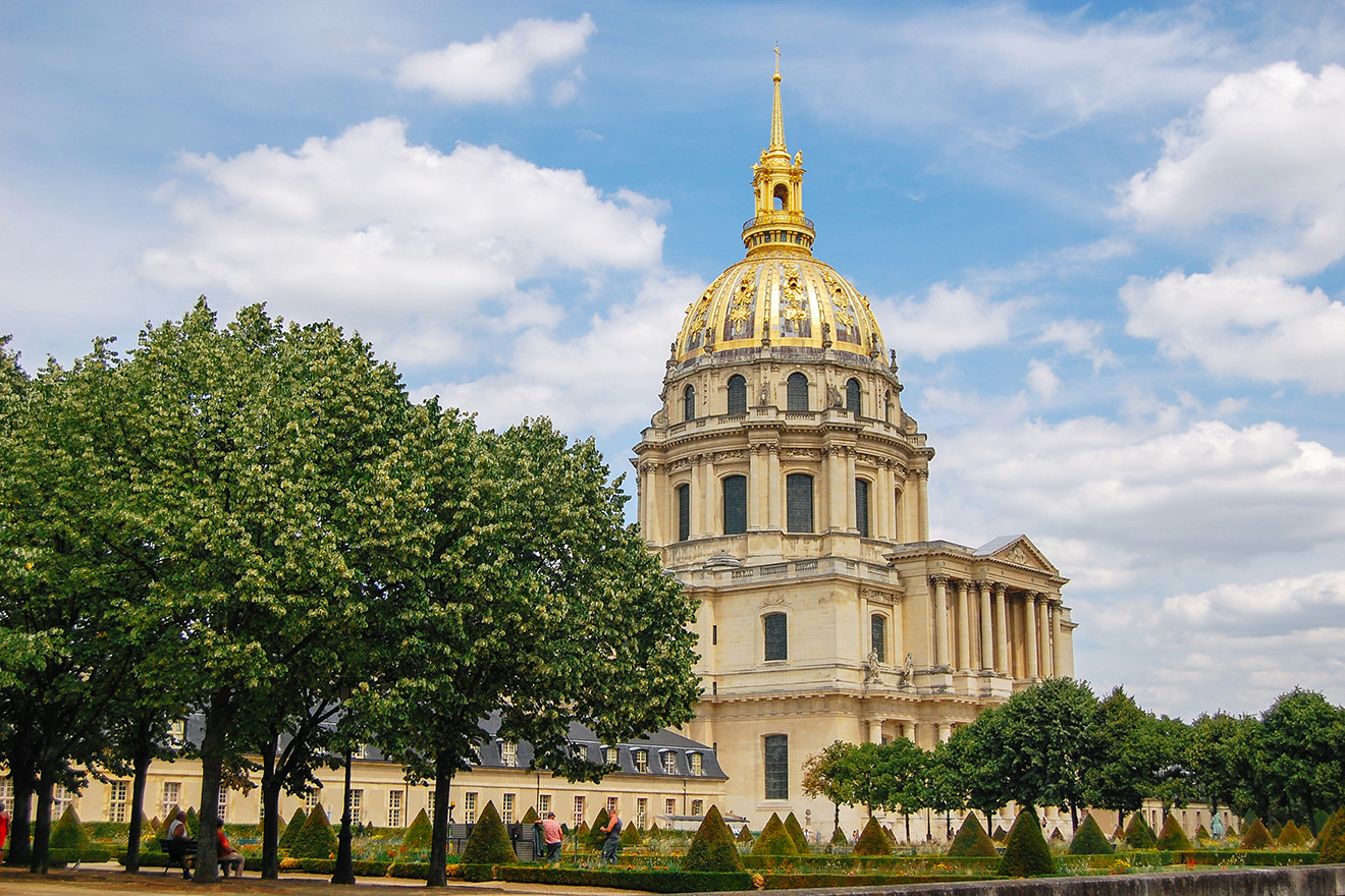 Golden Dome of the Invalides in Paris