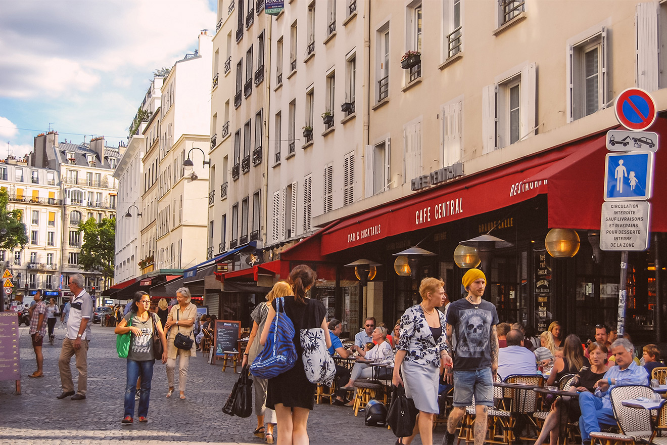 The famous Rue Cler is the perfect place for a casual outing