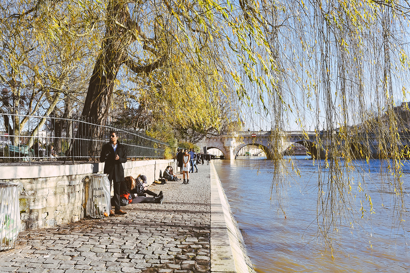 Enjoy an easy stroll to the romantic Seine River