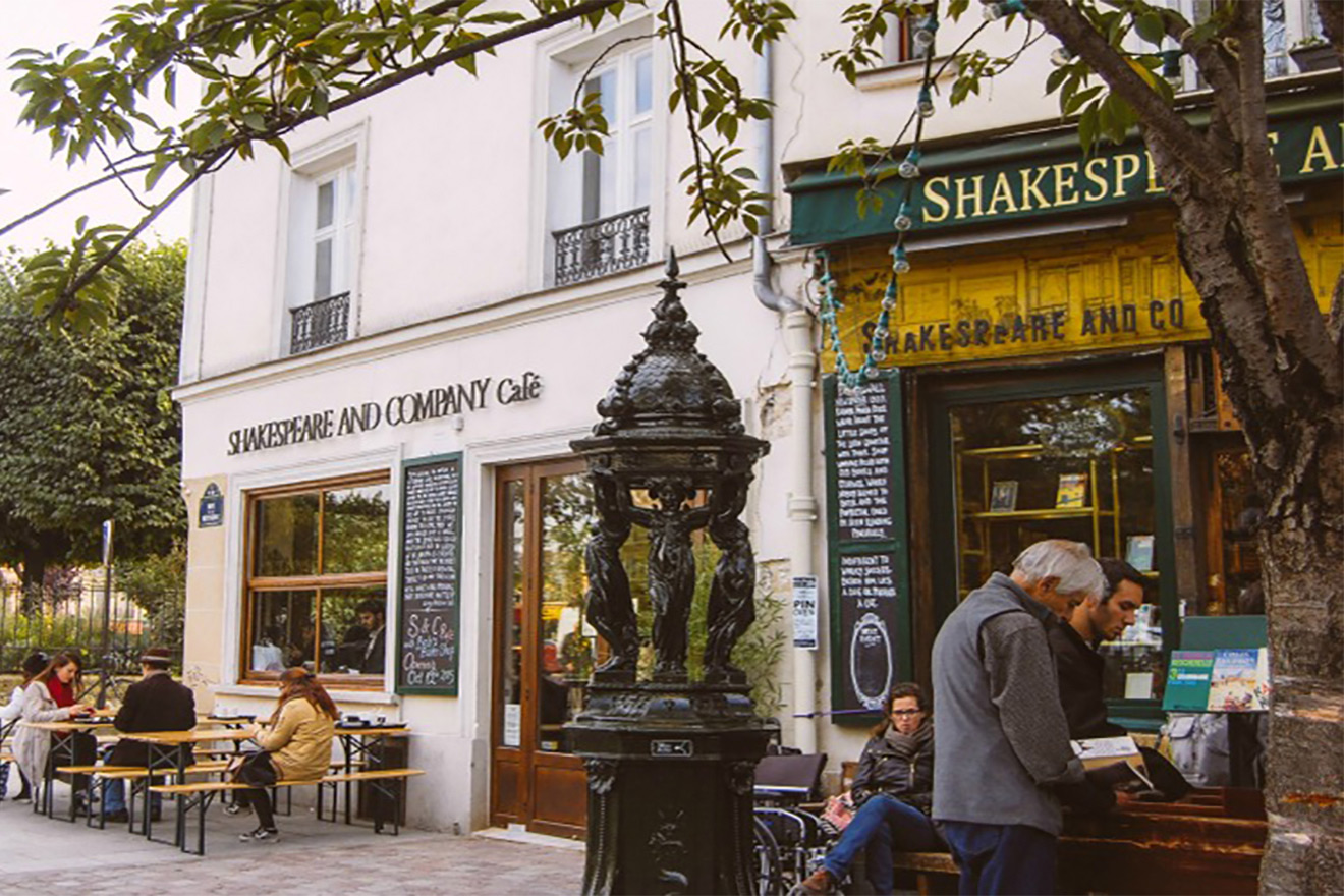Shakespeare & Co Book Store Paris
