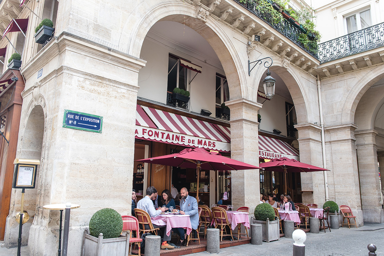 La Fontaine de Mars restaurant in Paris