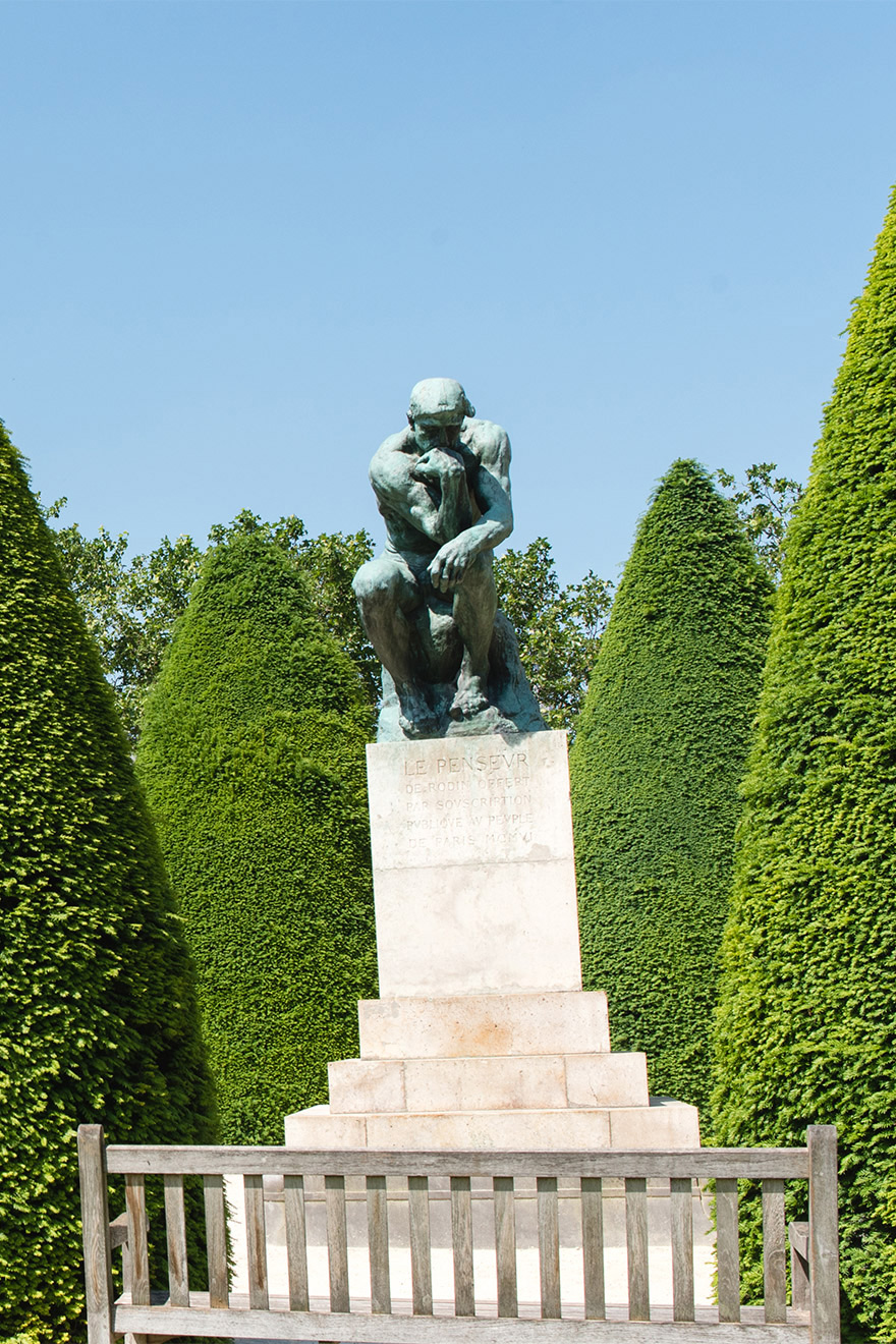 Visit the Rodin Museum in the 7th arrondissement