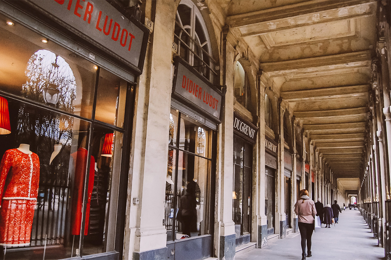 Palais Royal shops