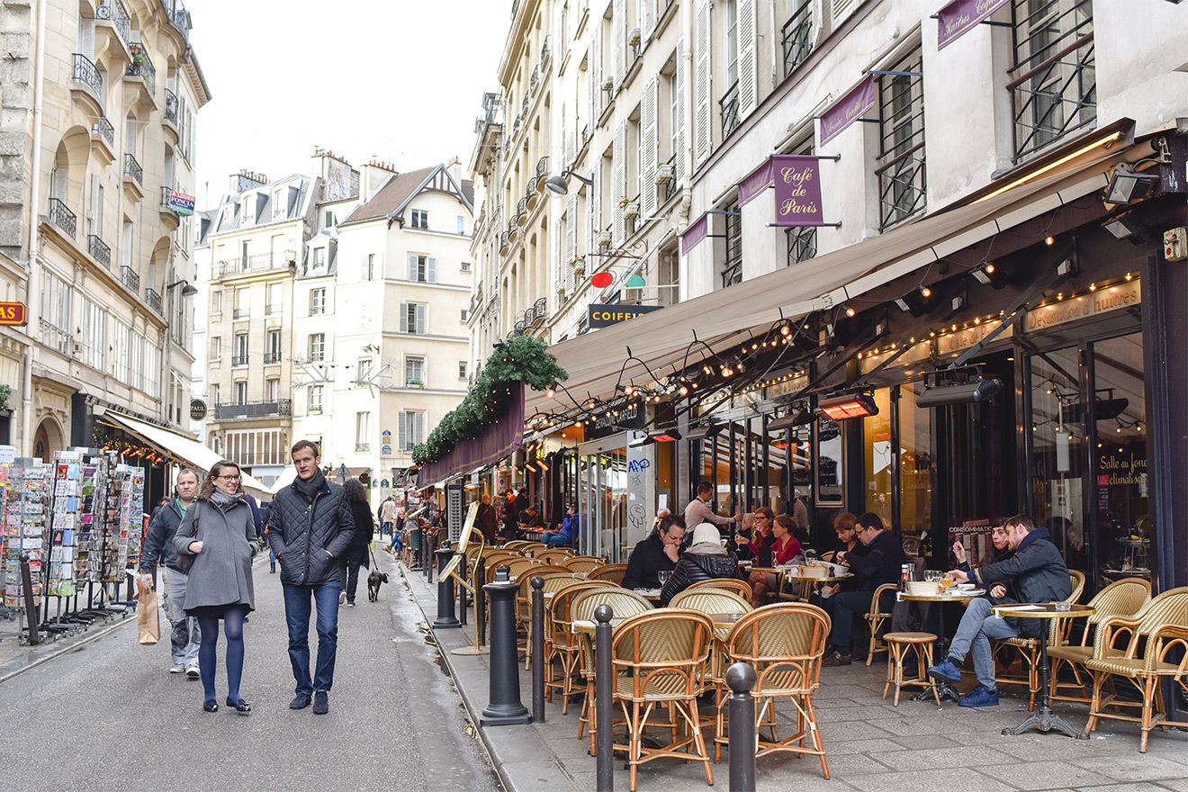 Rue Buci cafes and restaurants