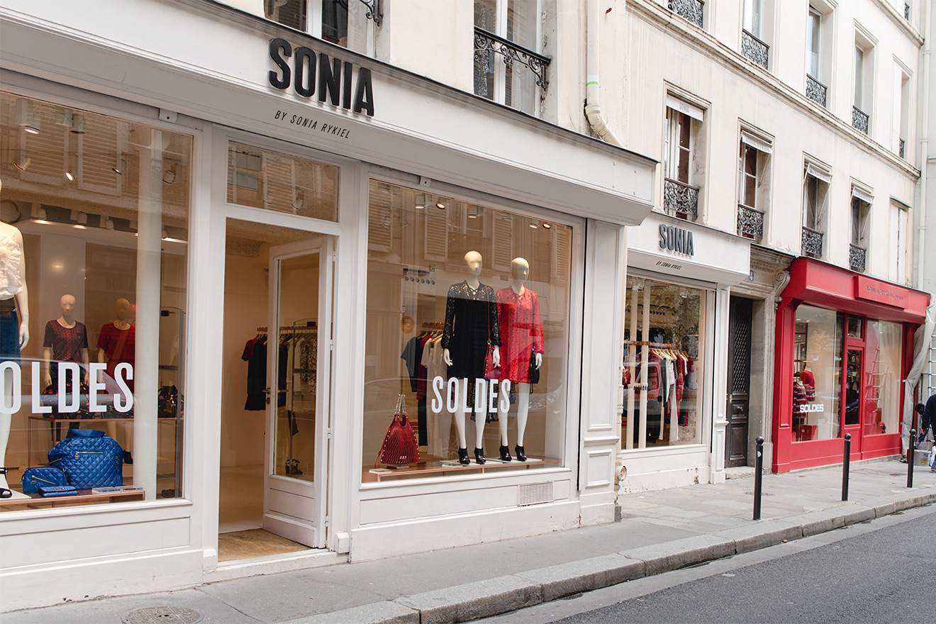 Shop at the boutiques on rue de Grenelle & Saint Dominique