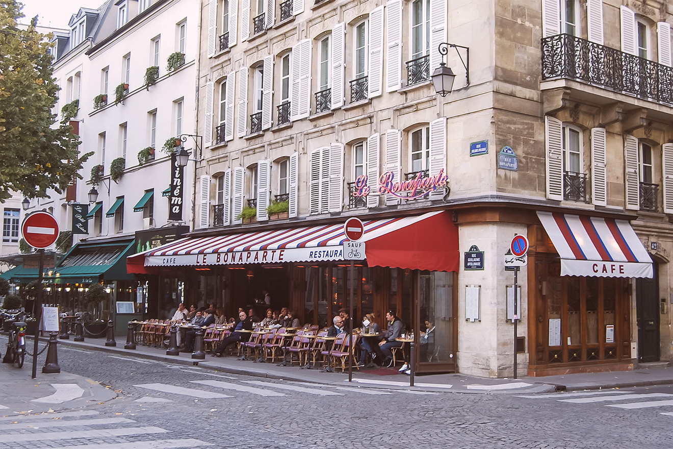 Famous Literary Cafe Paris