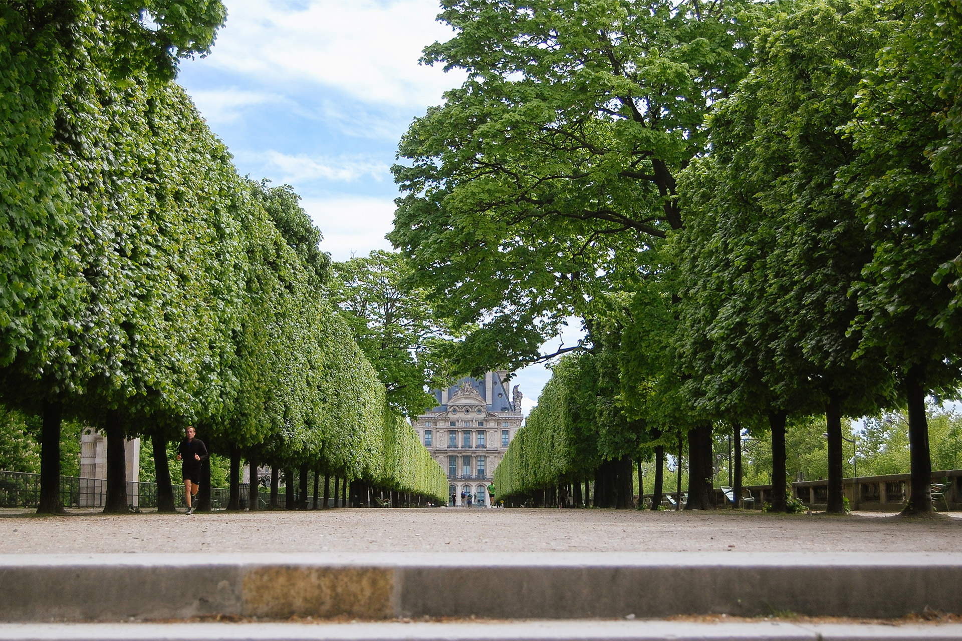 Walk through the Tuileries to to Louvre Museum nearby