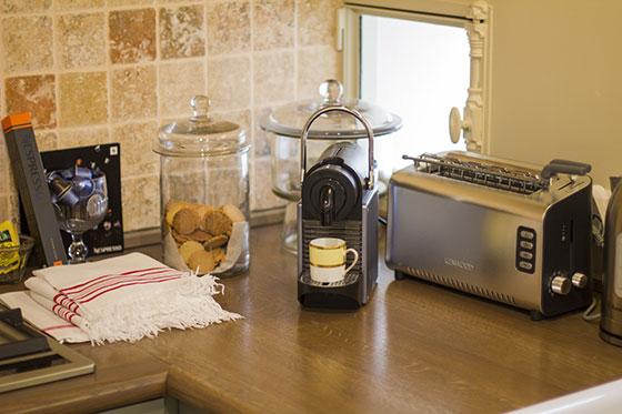 Coffee Machine Paris Apartment