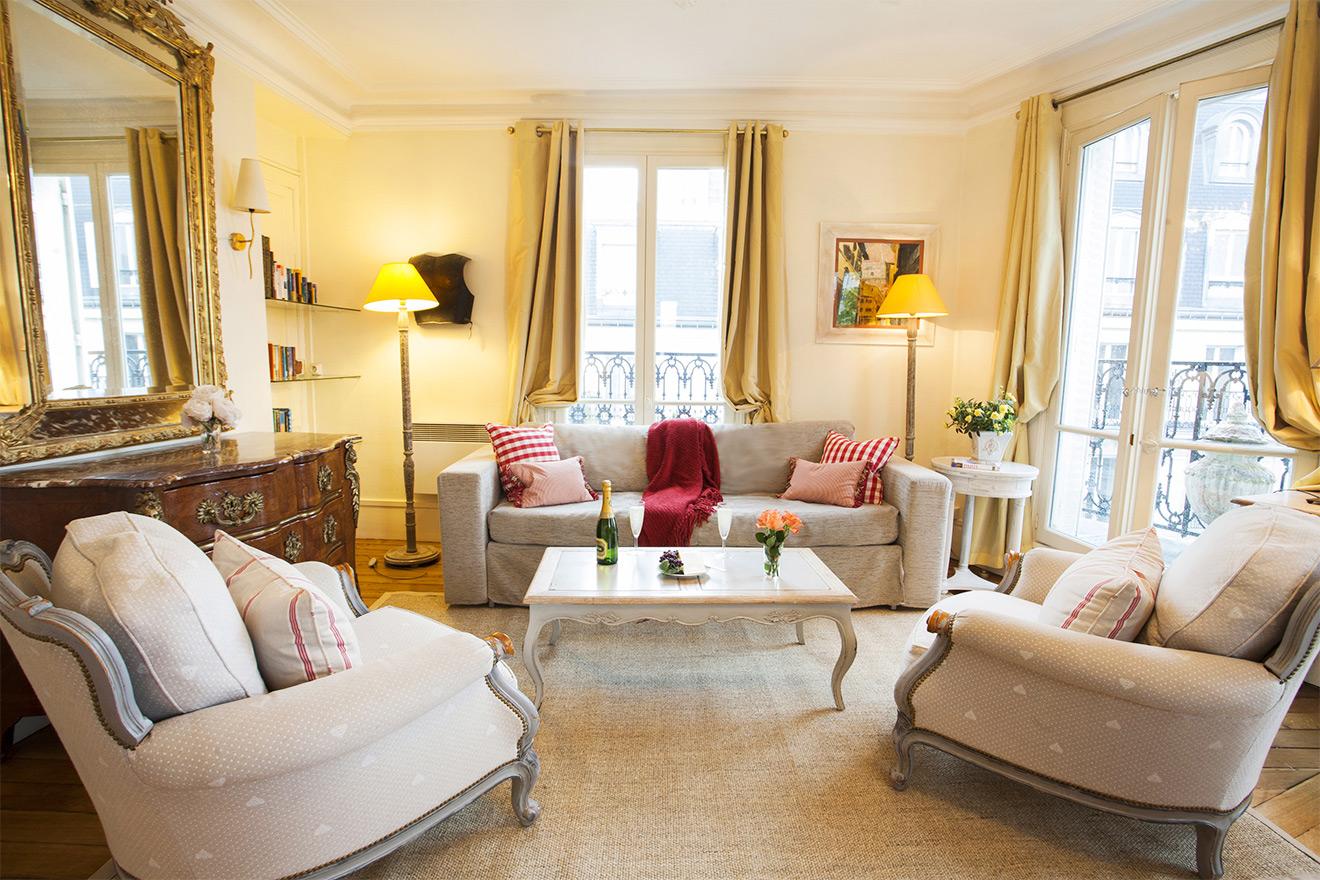 Sancerre Apartment Rental in Paris