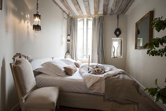Paris Apartment Master Bedroom
