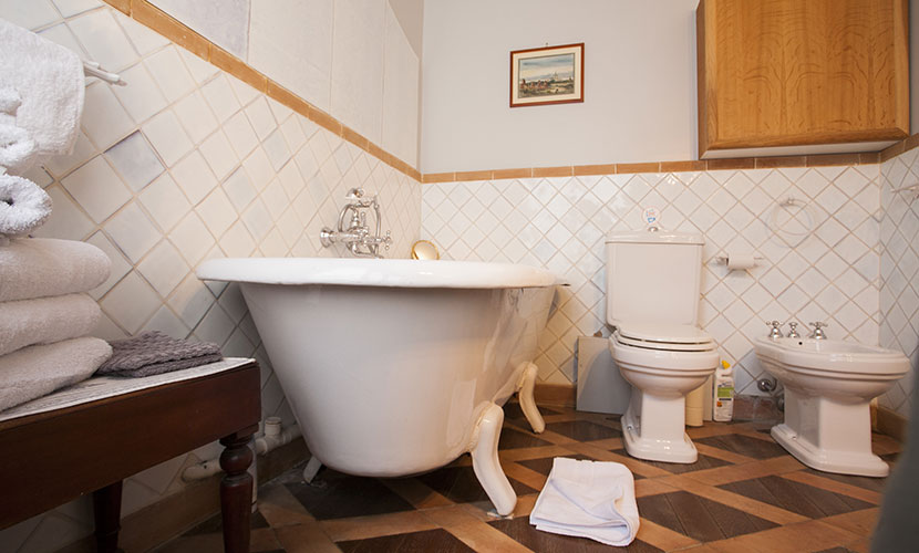 Paris Apartment Bathroom with Bidet