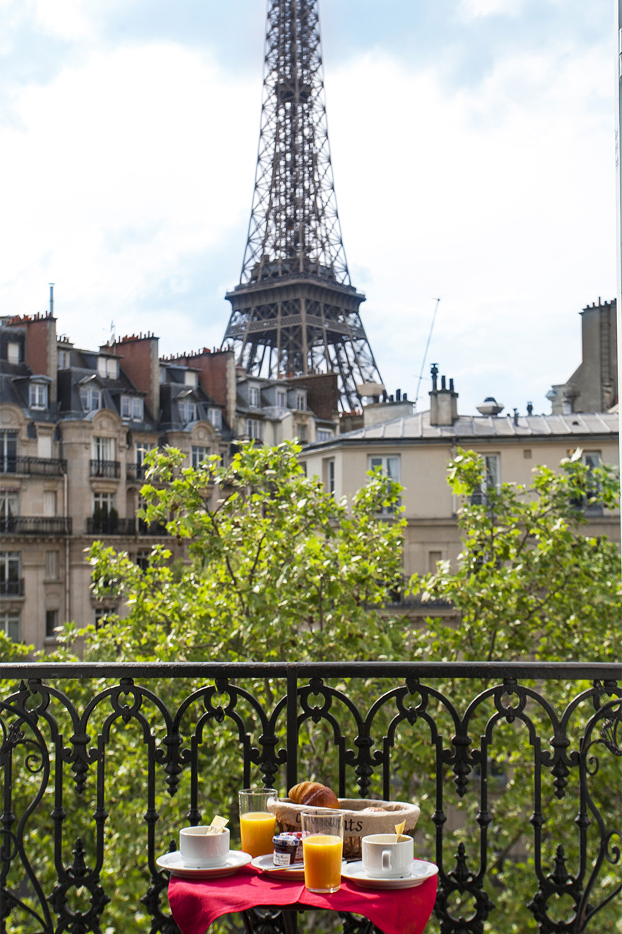 Eiffel Tower Apartment Left Bank