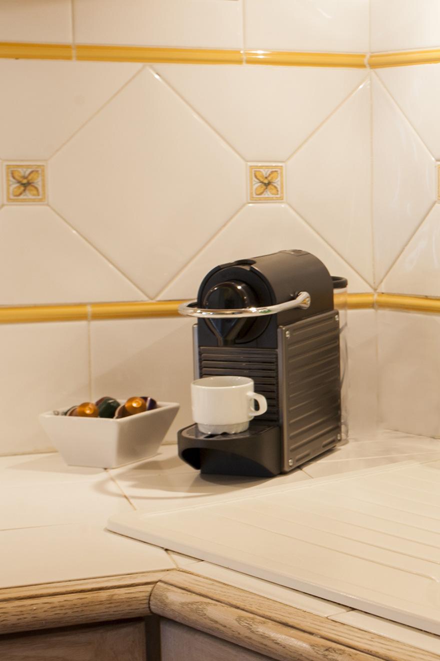 Nespresso Coffee Maker Paris Apartment