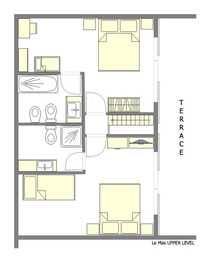 Floorplan Upper Level
