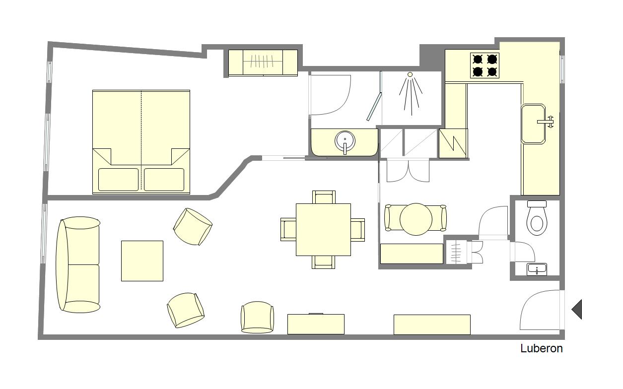 Luberon Floorplan