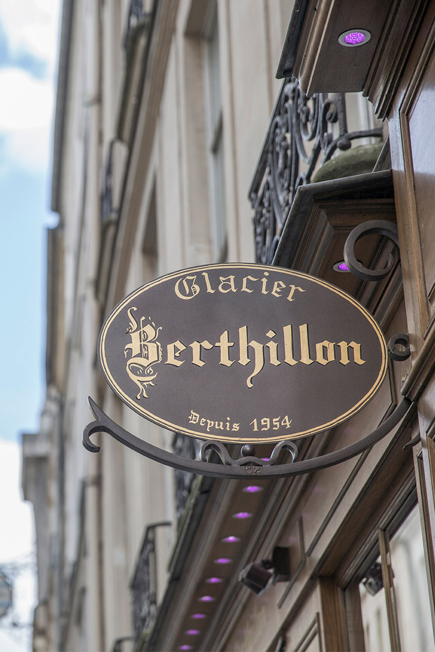 Berthillon - Most famous ice cream in Paris
