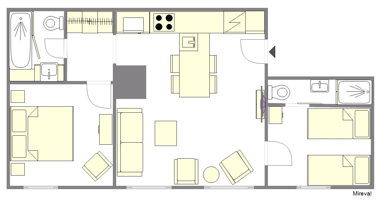 Mireval Floorplan