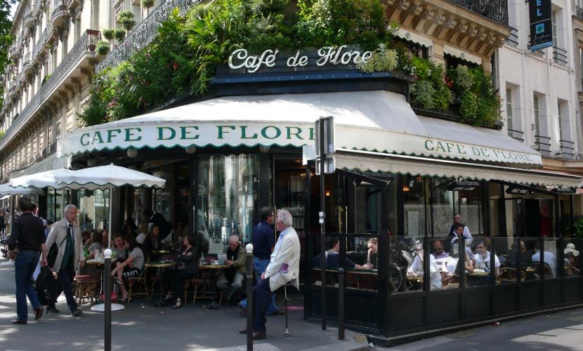 Cafe de Flore Literary Cafe Paris