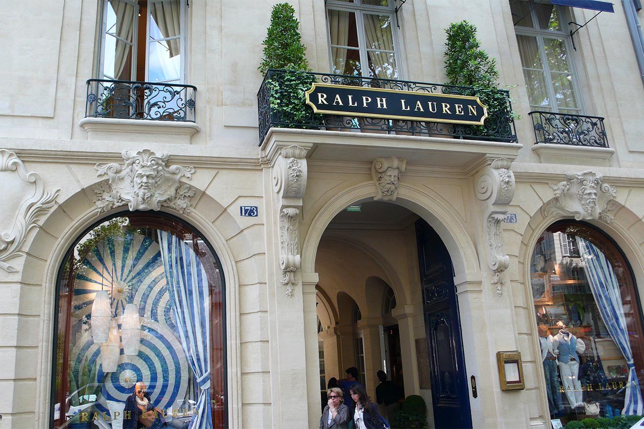 Enjoy shopping along Boulevard Saint-Germain in Paris