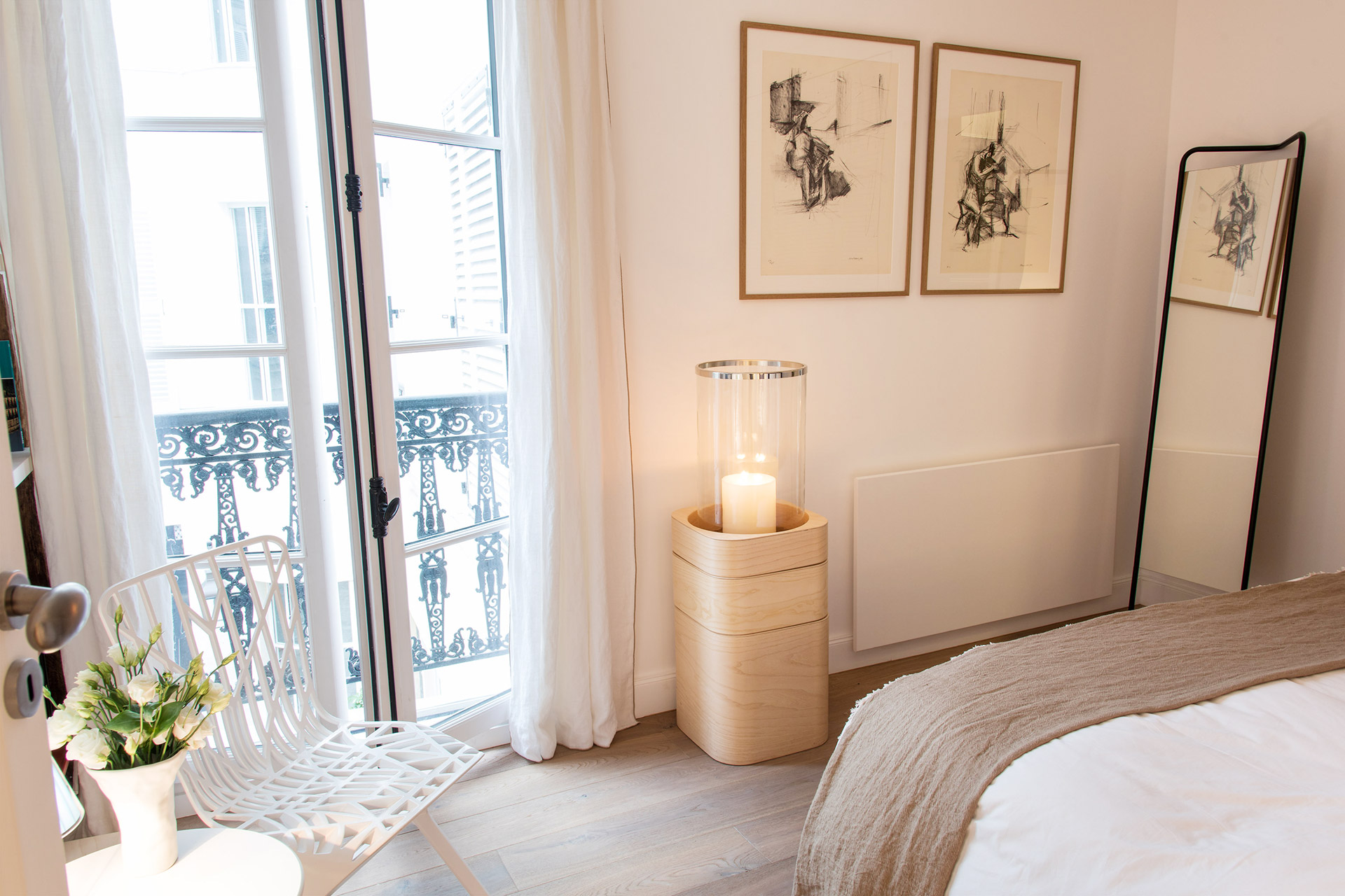 Enjoy a quite night as the bedroom overlooks the courtyard