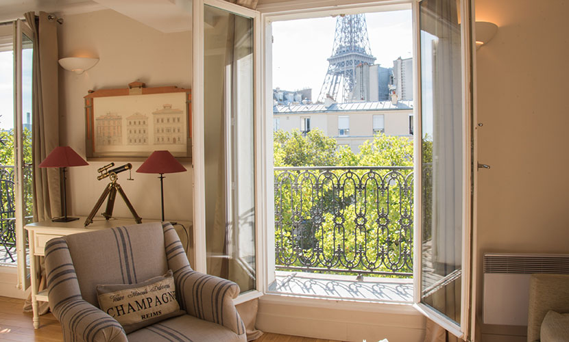 Eiffel Tower Apartment Rental in Paris