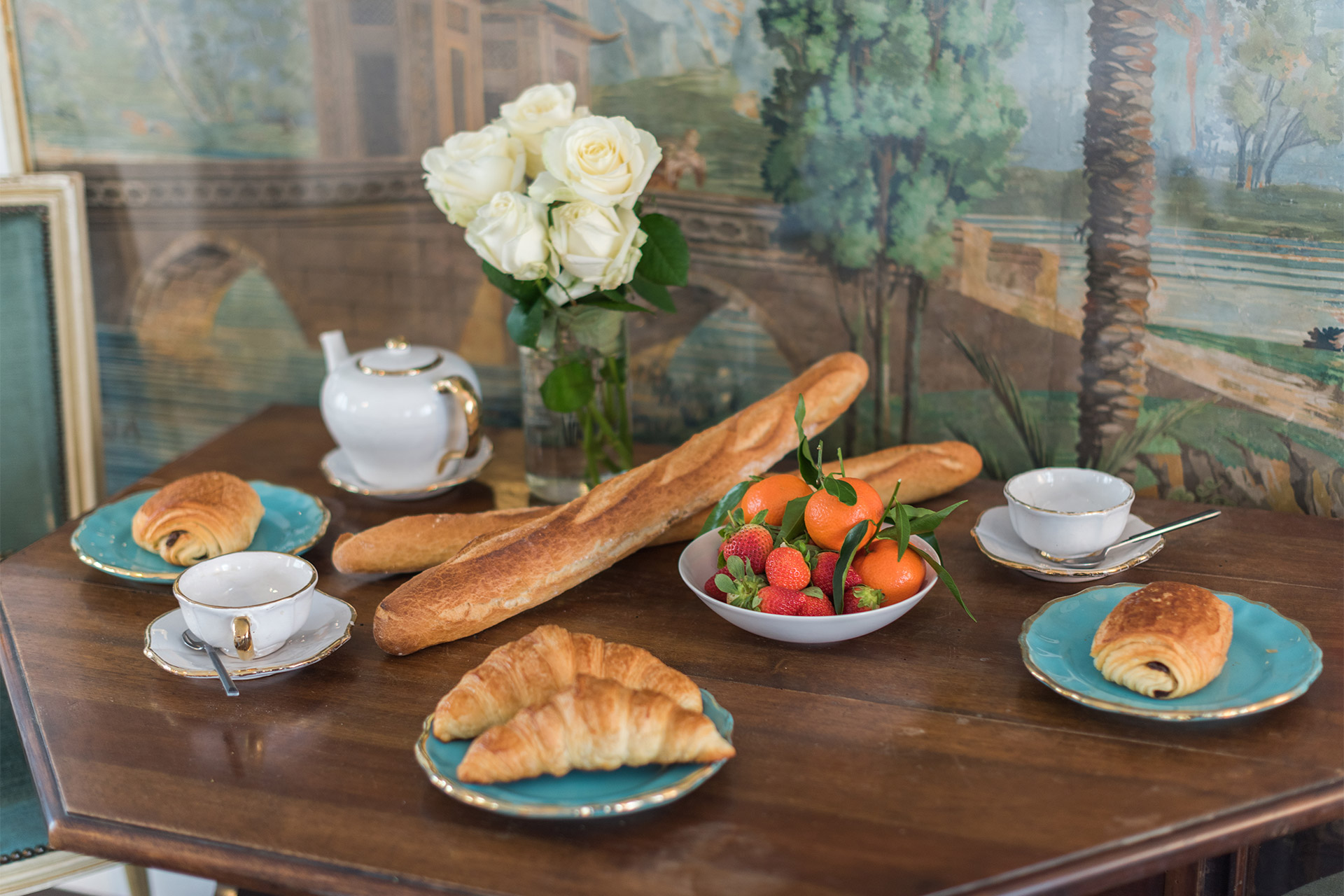 Find fabulous fresh ingredients nearby for breakfast at the Jacquere vacation rental offered by Paris Perfect