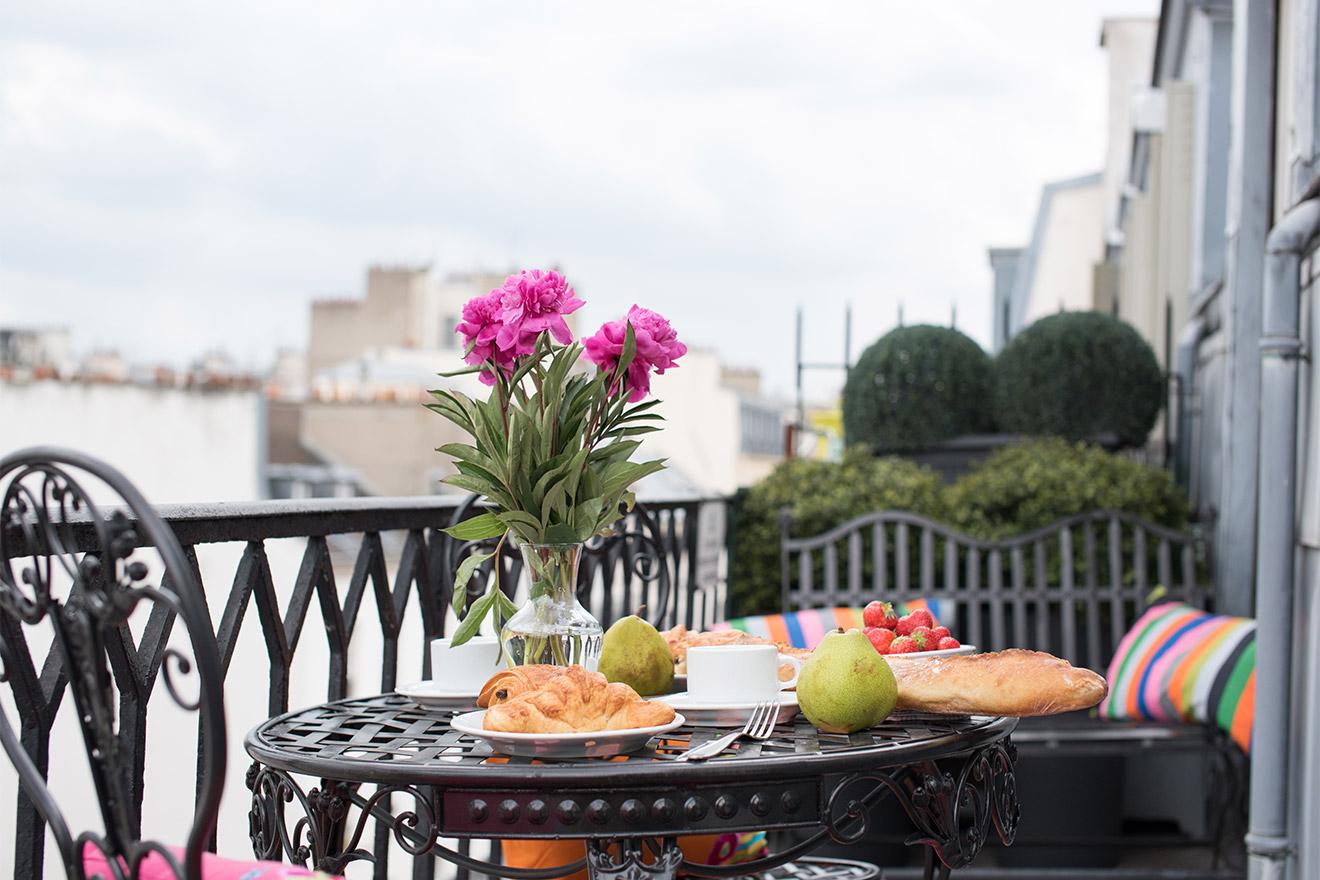 Saint Romain balcony
